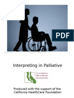 Interpreting Palliative Care Introduction