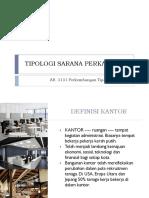 Tipologi Sarana Perkantoran