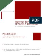 Tipologi Transit Dan Terminal