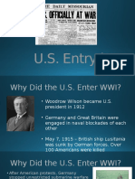 us entry to wwi