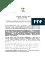 Proceso Hacia La Ix Asamblea General Del Ceaal