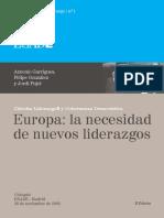 1. Antonio Garrigues, Felipe González y Jordi Pujol Europa La Necesidad de Nuevos Liderazgos