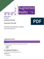 Daniel M-Augmented Reality