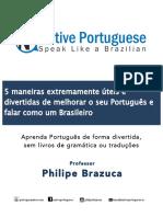5maneiras de Melhorar o Seu Portugues