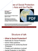 An Overview of Social Protection Needs in Asia and the Pacific