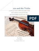 Women and the Violin