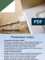 Presentasi Video Pariwisata