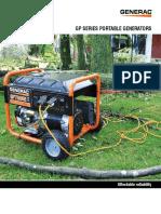 Especificaciones Tecnicas Generadores Generac Serie GP