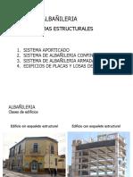 Sistemas Estructurales en Albañileria
