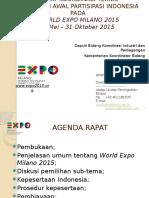Bahan World Expo Milano 2015