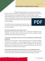 parent participant info letter a