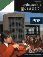 Educacion y Ciudad Nº 14