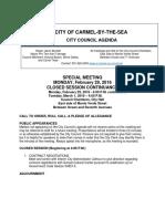 Agenda 02-29-2016 - Continuance