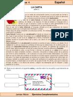6to Grado - Español - La carta.pdf