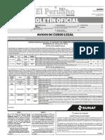 Diario Oficial El Peruano, Edición 9256. 01 de marzo de 2016