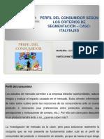 Perfil Del Consumidor Segun Los Criterios de La Segmentación. Luis Fernández 2016