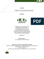 1. Informe Diagnostico Organizacional