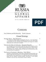 Russia in Global Affairs -- Vol.8 No.1, Jan-Mar 2010