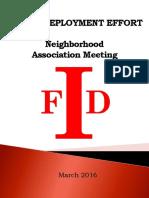 2016 IFD Redeployment Plan