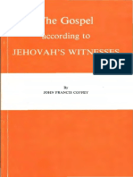 The Gospel According to Jehovah's Witnesses by John Coffey, 1979