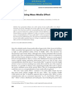 Conceptualizing Mass Media Effect by Potter, W. James