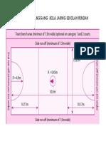 Ukuran Gelanggang Bola Jaring