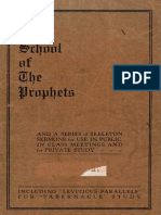 School of the Prophets by Larent and Stewart, 1922