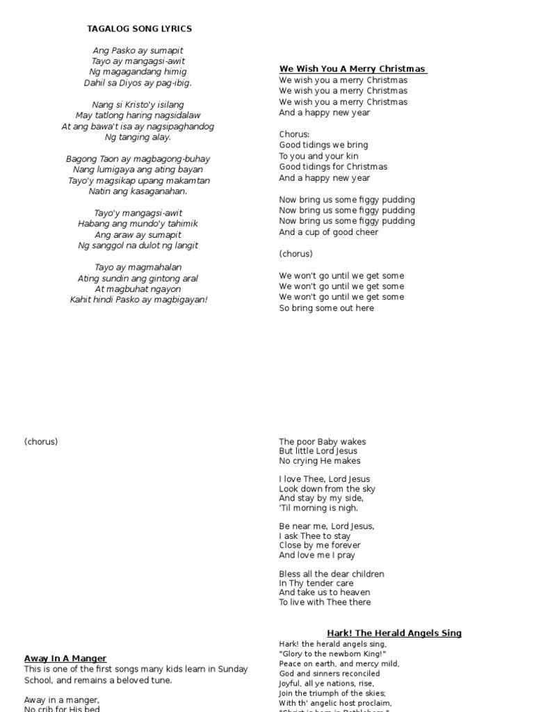 Christmas Song Lyrics | Glory (Religion) | Jesus