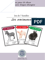 BonjourFLE 7familles Animaux