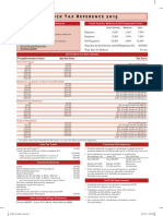 2015 Quick Tax Reference