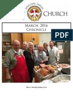 Christ Church Eureka March Chronicle 2016