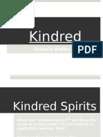 kindred presentation