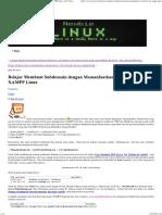 Belajar Membuat Subdomain Dengan Memanfaatkan Virtual Host Di XAMPP Linux » Riz's Notes