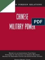 No. 44 - Chinese Military Power