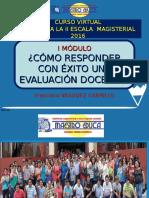 Como responder con éxito a una evaluación docente
