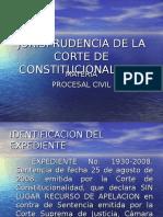 Jurisprudencia en Materia Civil