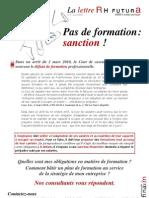 Lettre d'Information RHF Avril 2010