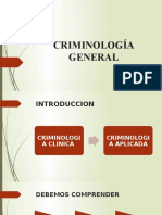 Cap Introduccion a la Criminilogia