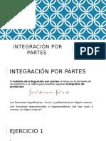 Integración Por Partes -