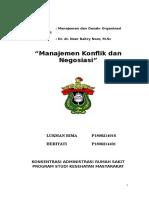 organisasi manajemen