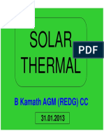Solar Thermal-renewable Energy Prgramme by Ntpc