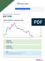 Forex Daily Forecast - 02 Mar 2016 BlueMax Capital