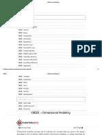 OBIEE Dimensional Modeling