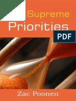 Supreme Priorities