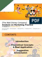 Disney presentation