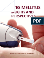 Diabetes Ebook:Diabetes mellitus insights perspectives