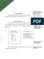 math writing sample grade 8