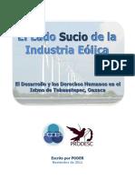 PODER - El Lado Sucio de La Industria Eólica - FINAL - Versión Pública
