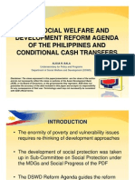 The Social Welfare and Development Reform Agenda of The Philippines and Conditional Cash Transfers