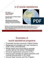 Overview of Social Assistance